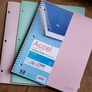 Notebook & Folder Set